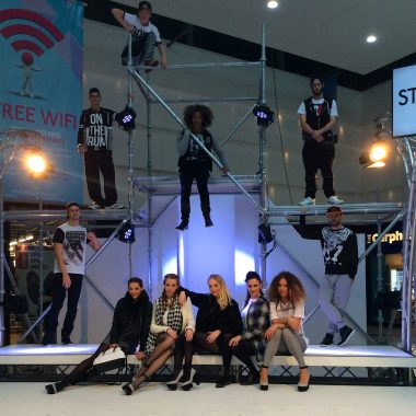 shopping centre catwalk