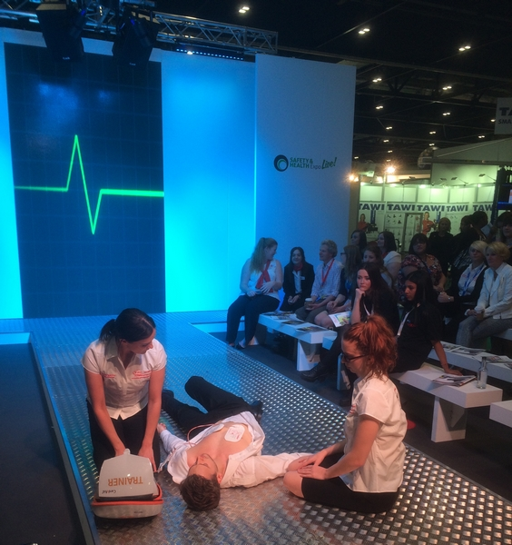 SHE LIVE – SAFETY & HEALTH EXPO FOR UBM – LONDON EX-CEL